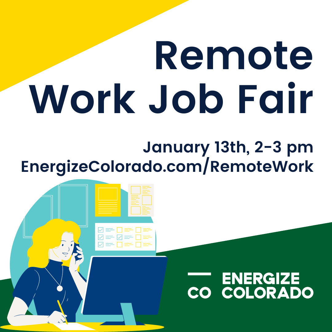 Remote Work Job Fair Social